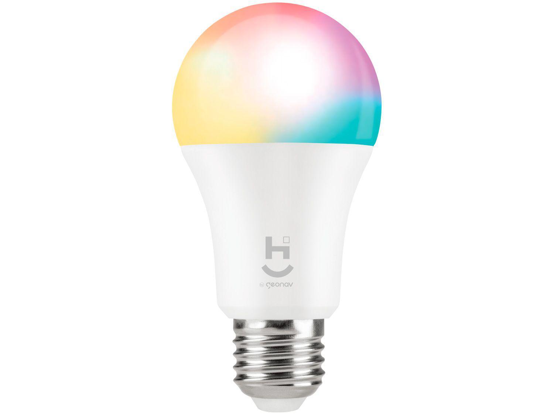 Lâmpada Smart Bulbo Geonav E27 Branca Dimerizável - 9W 2700K Hi HIE27QF
