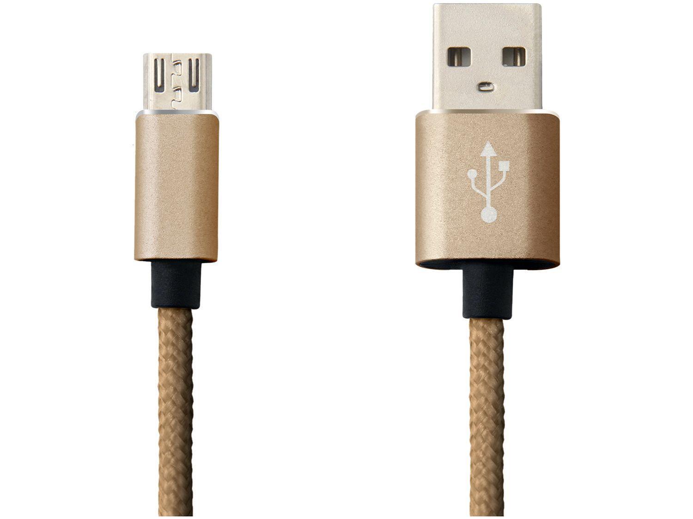 Cabo Micro USB 2m Easy Mobile - Premium Cable
