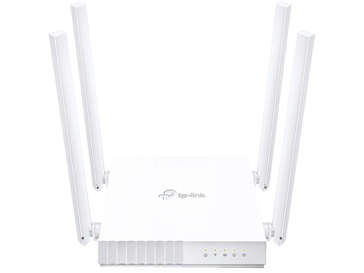 Roteador TP-Link Archer C21 433Mbps 4 Antenas - Wi-Fi 5 5 Portas