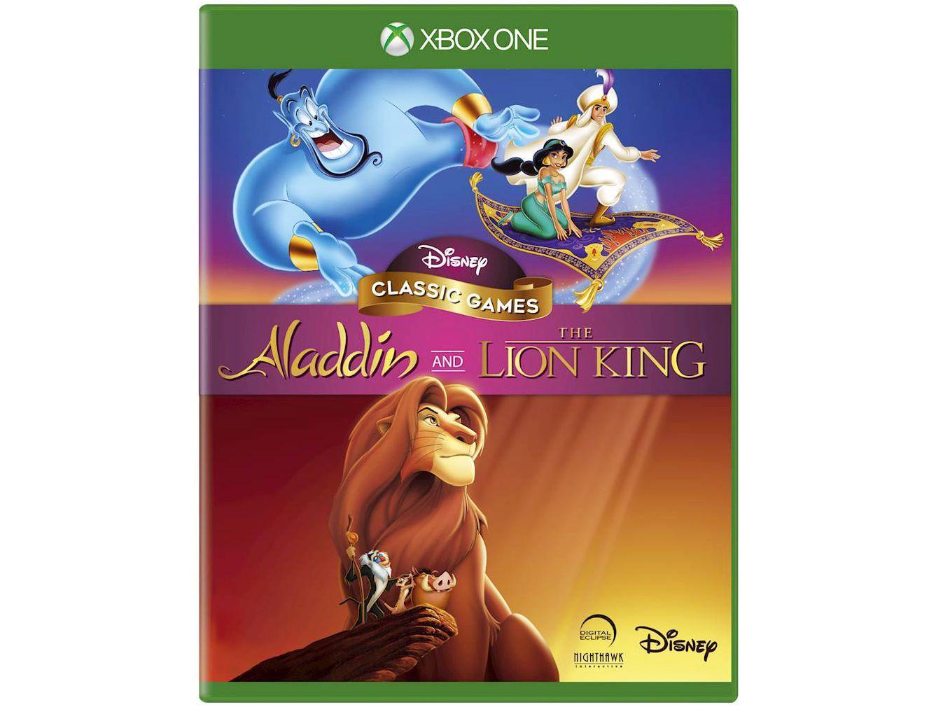 Disney Classic Games: Aladdin and the Lion King - para Xbox One Disney