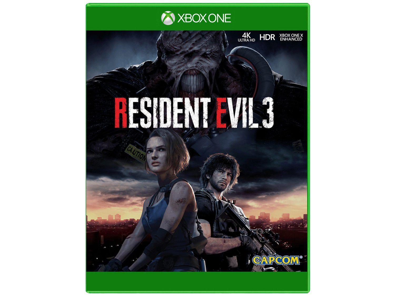 Resident Evil 3 para Xbox One Capcom - Lançamento