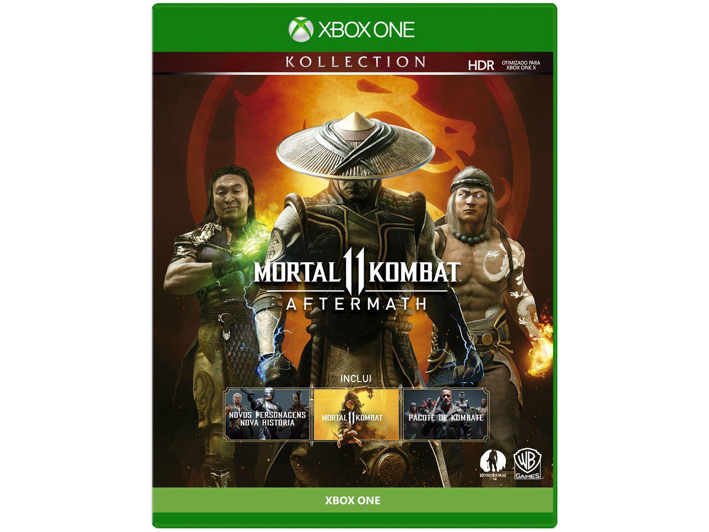 Mortal Kombat 11: Aftermath para Xbox One - WB Games Lançamento