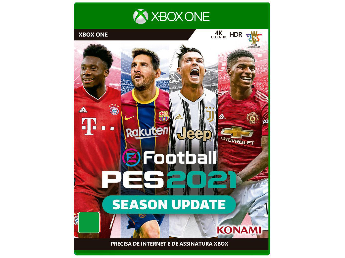 eFootball PES 2021 para Xbox One Konami
