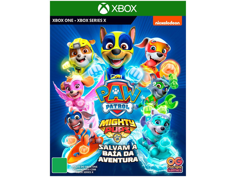 Jogo Patrulha Canina Super Filhotes Salvam a - Baía da Aventura para Xbox One e Xbox Series X