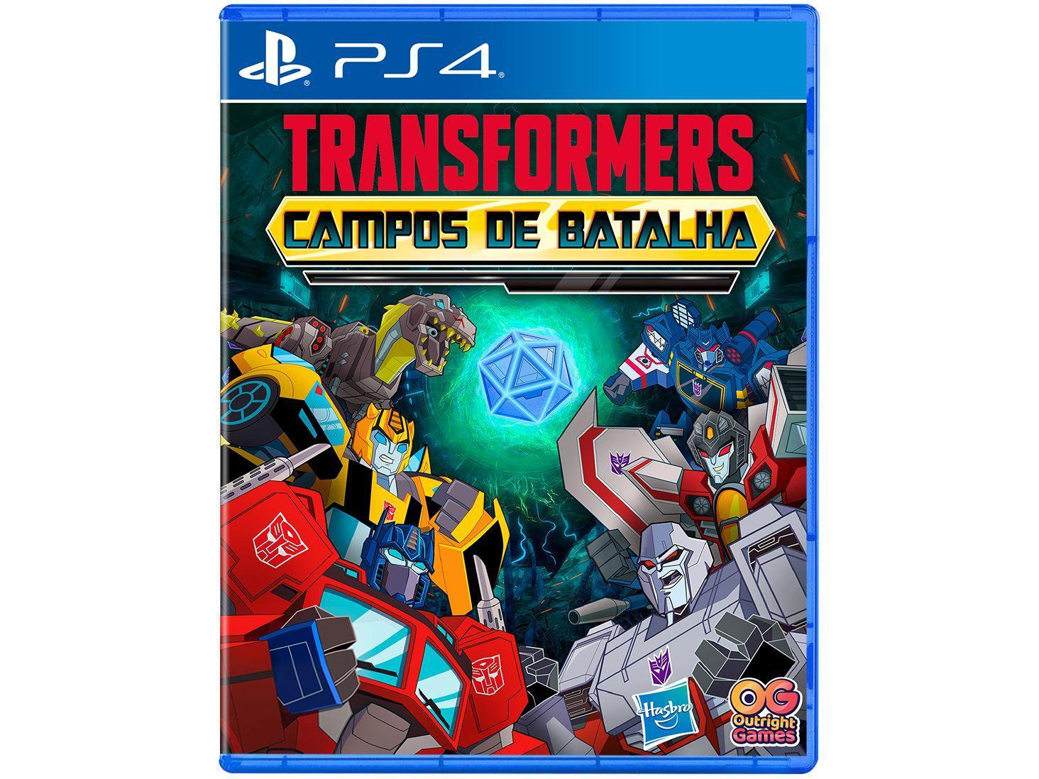 Jogo Transformers Campos de Batalha para PS4 - Outright Games