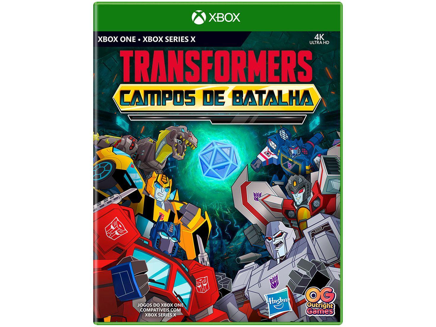 Jogo Transformers Campos de Batalha - para Xbox One e Xbox Series X Outright Games