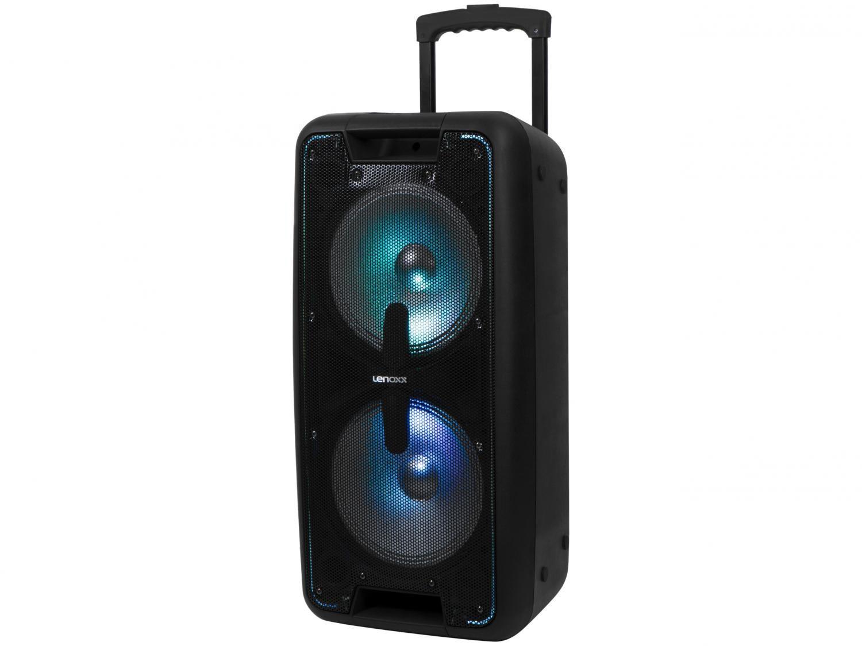 Caixa de Som Bluetooth Lenoxx CA 360 Ativa - Amplificada 600W USB