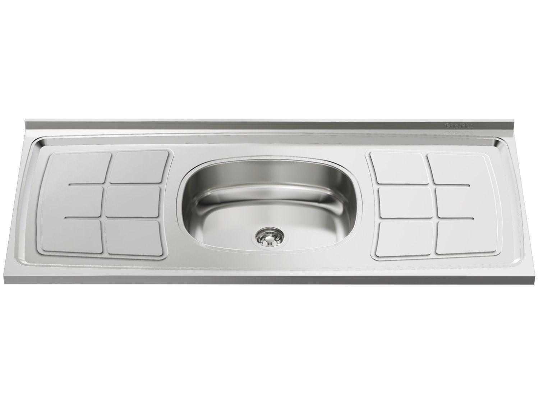 Pia de Cozinha Inox 105x52cm - Ghel Plus
