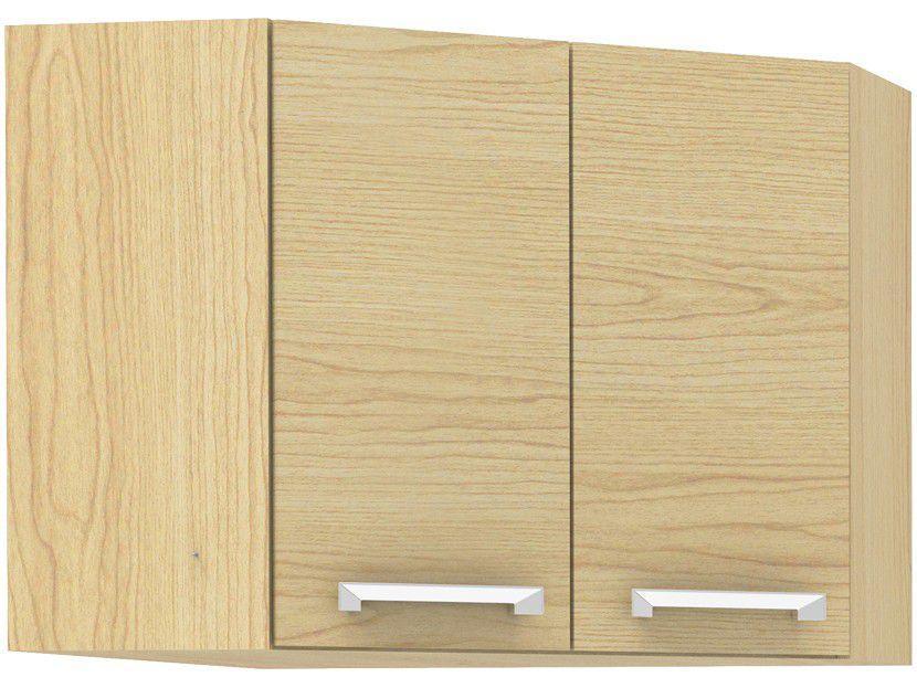 Armário de Cozinha Aéreo de Canto Madesa - Rubi Glamy 2 Portas 59,2x66cm