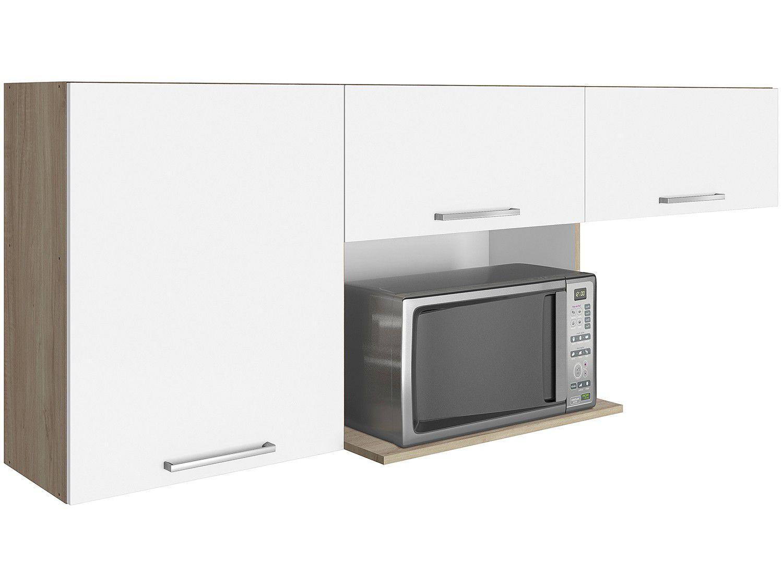 Armário de Cozinha Aéreo Itatiaia Lya 3 Portas - 189,8x69cm