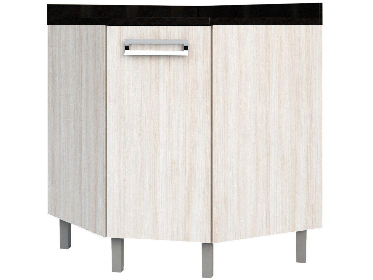Balcão de Cozinha de Canto Poliman Móveis - 1 Porta Luiza D32000
