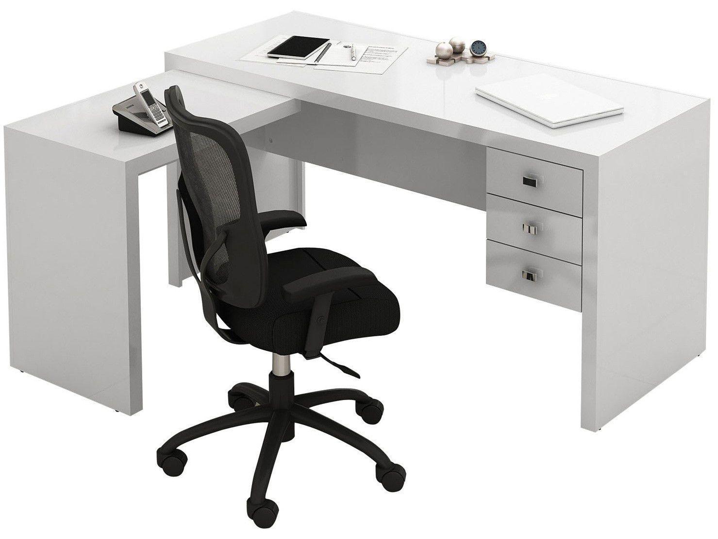 Escrivaninha/Mesa para Computador 3 Gavetas - Tecno Mobili ME 4106