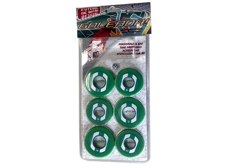 Jogo de Futebol de Botão - com 10 Botões - Klopf 34094