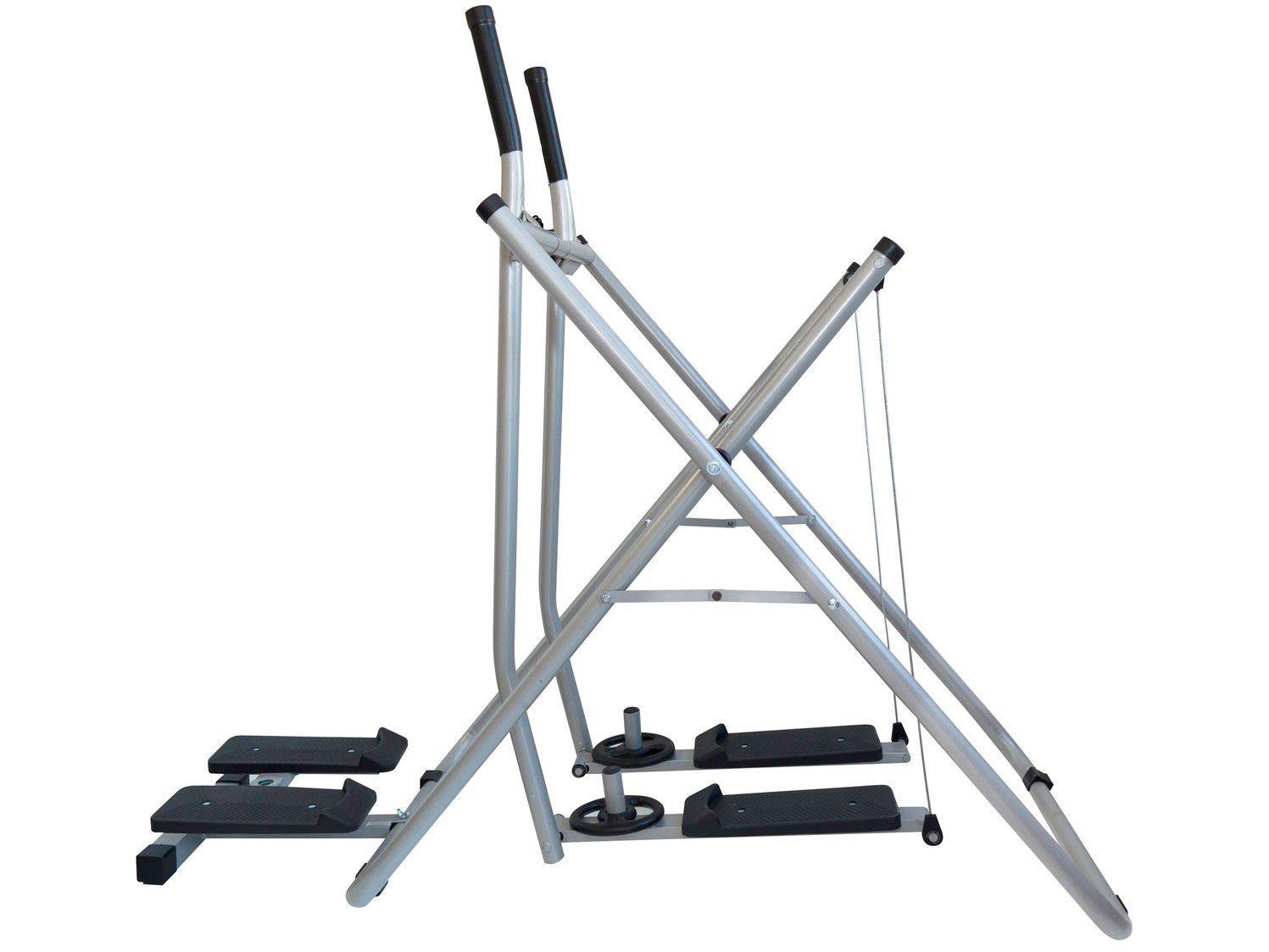 Simulador de Caminhada Space Fitness Twister - 10 Exercícios