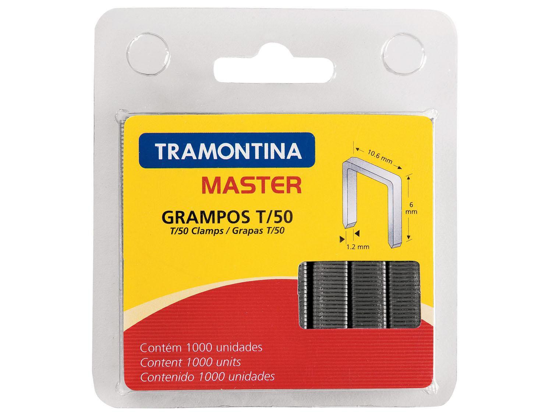 Conjunto de Grampos T/50 6mm com 1.000 Unid. - Tramontina 43500506