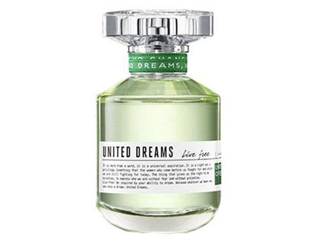 Perfume Benetton United Dreams Live Free - Feminino Eau de Toilette 80ml