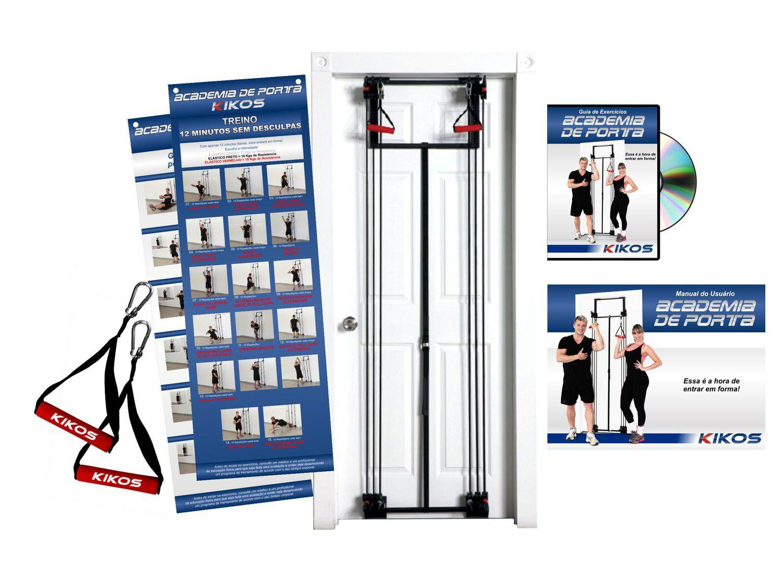 Academia de Porta + DVD Guia de Exercícios - Kikos AB3306