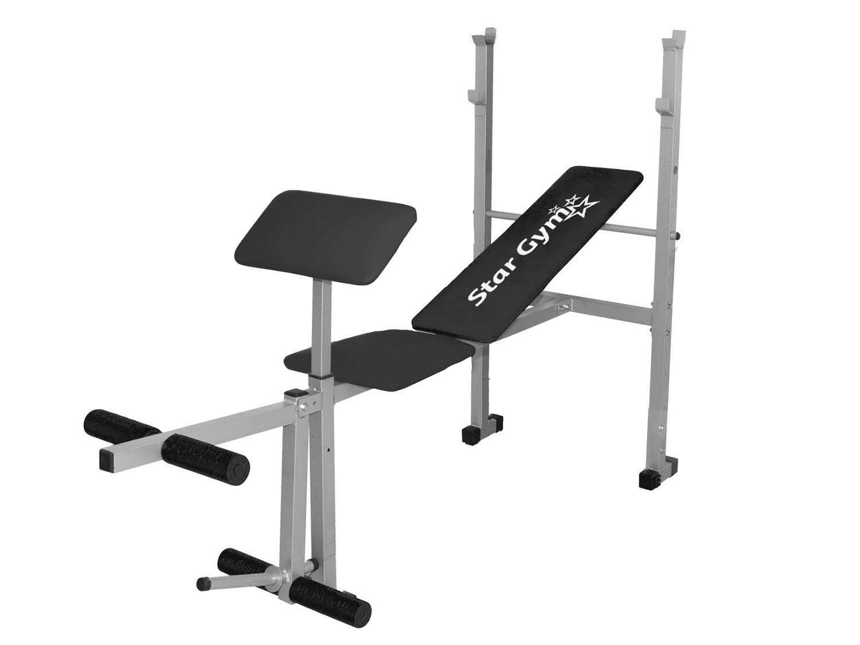 Estação/Aparelho de Musculação StarGym - 3 Exércícios Suporta até 150kg