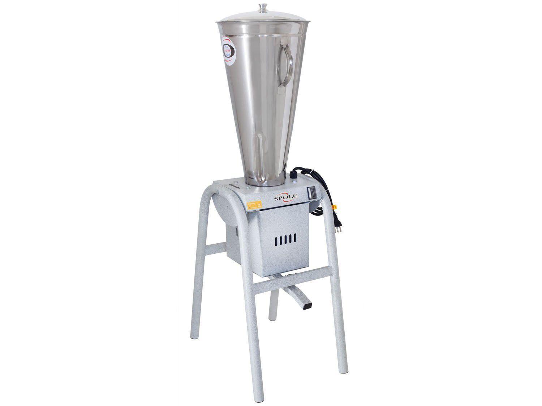 Liquidificador Industrial 15L Inox Spolu - Comercial 1500W Basculante