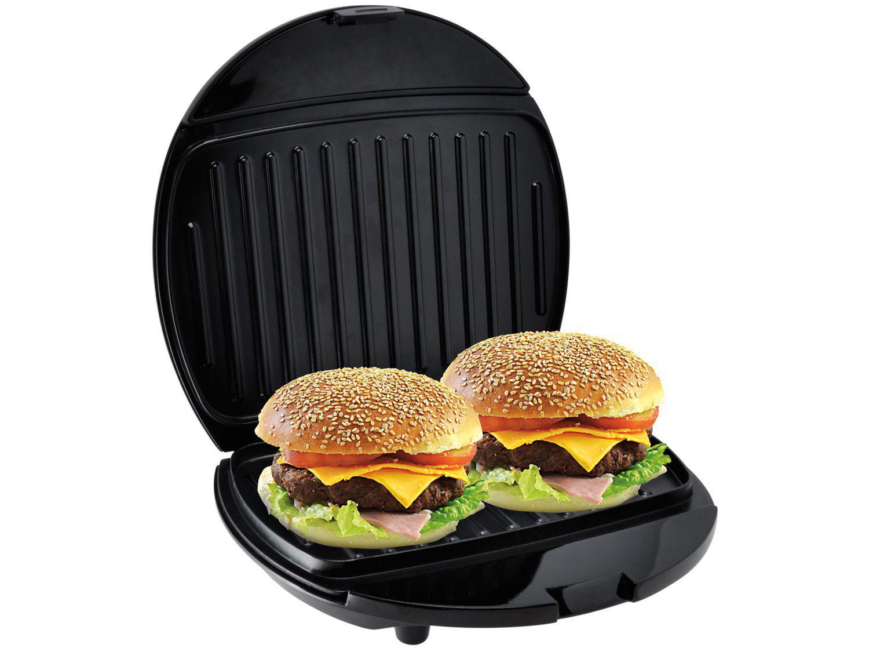 Grill Philco Mini Grill 750W Antiaderente - com Base Antiderrapante