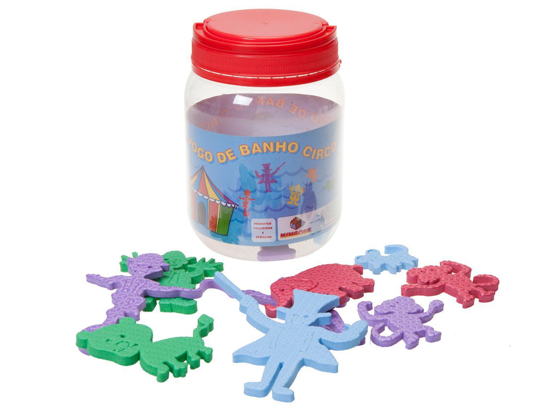 Brinquedo para Banho Circo Mingone - 26 Peças