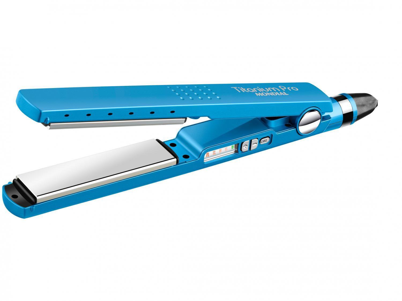 Chapinha/Prancha de Cabelo Profissional Mondial - Titanium Pro P-28 230ºC