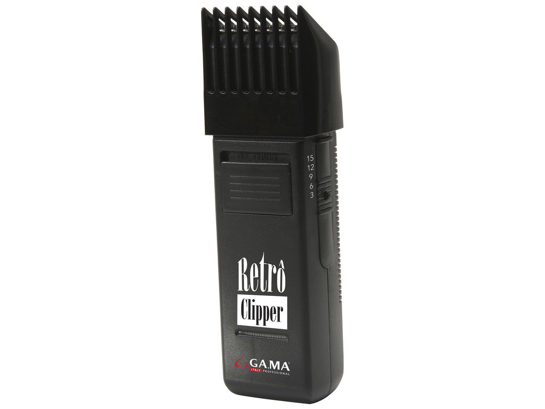 Cortador de Cabelo Gama Italy - CP Retrô Clipper