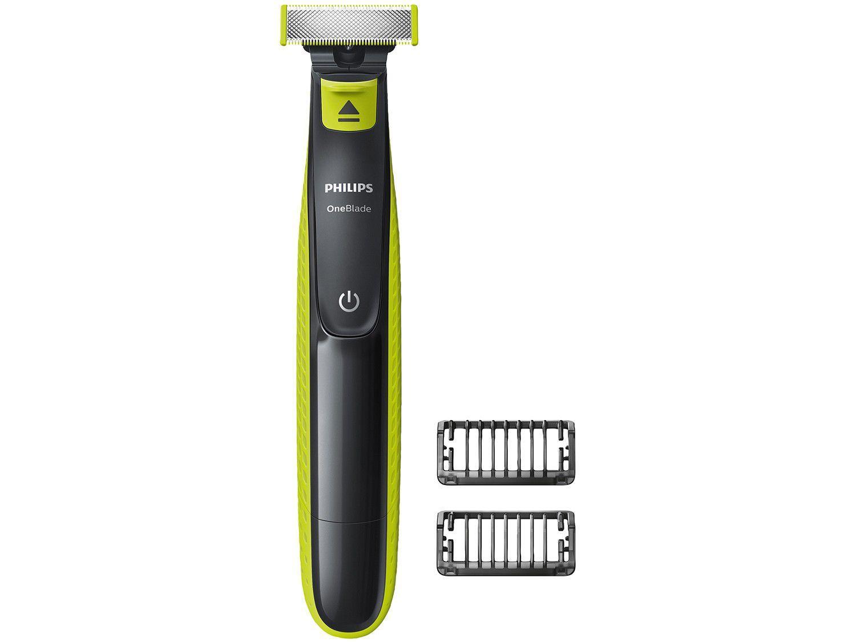 Barbeador Philips OneBlade QP2521/10 - Seco e Molhado 2 Pentes