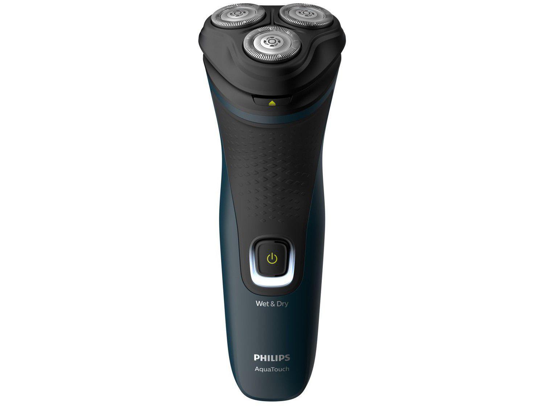 Barbeador Elétrico Philips Series 1000 AquaTouch - Seco e Molhado 1 Velocidade