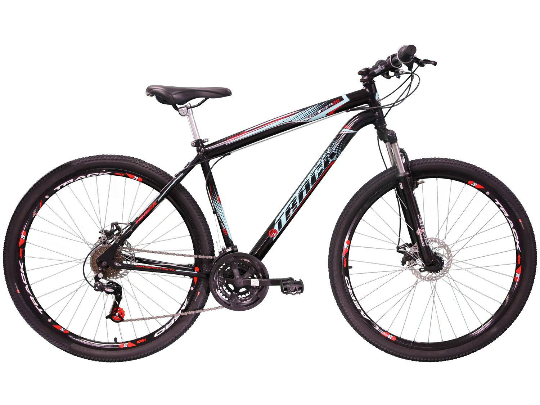 Bicicleta Aro 29 Track Bikes TB Niner Aço - Freio a Disco 21 Marchas