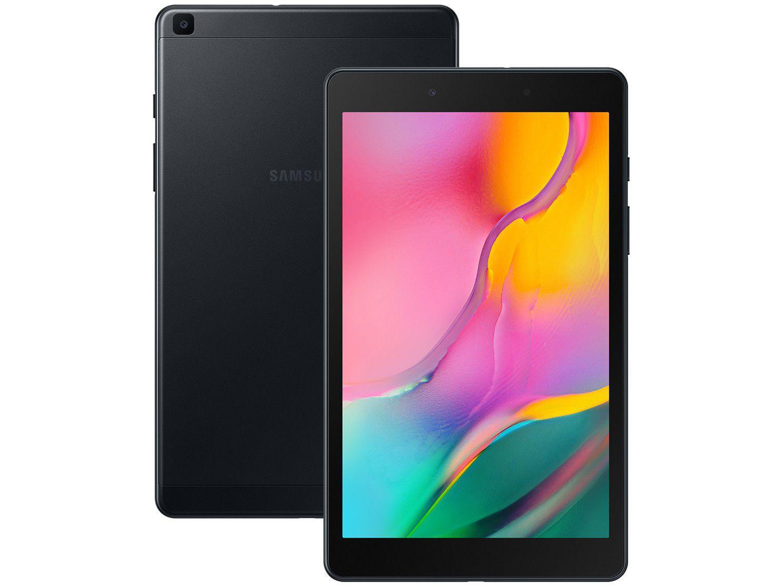 "Tablet Samsung Galaxy Tab A T295 32GB 8"" 4G - Android 9.0 Quad-Core Câm. 8MP"