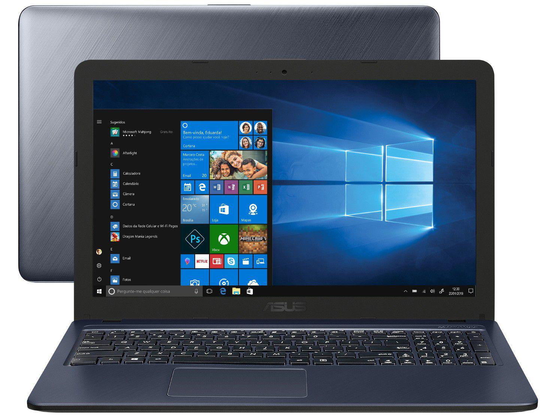 "Notebook Asus VivoBook X543UA-DM3459T - Intel Core i3 4GB 256GB SSD 15,6"" Full HD LED"