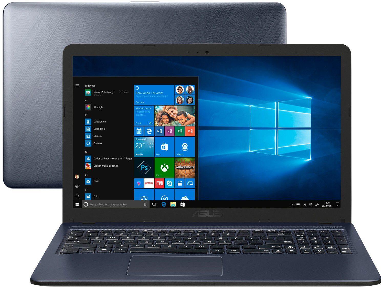 "Notebook Asus VivoBook X543UA-GQ3430T - Intel Core i3 4GB 256GB SSD 15,6"" LED Windows"