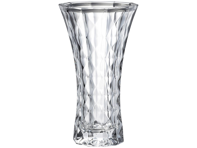 Vaso de Vidro para Mesa Redondo 25,5cm de Altura - L Hermitage Aquamarine