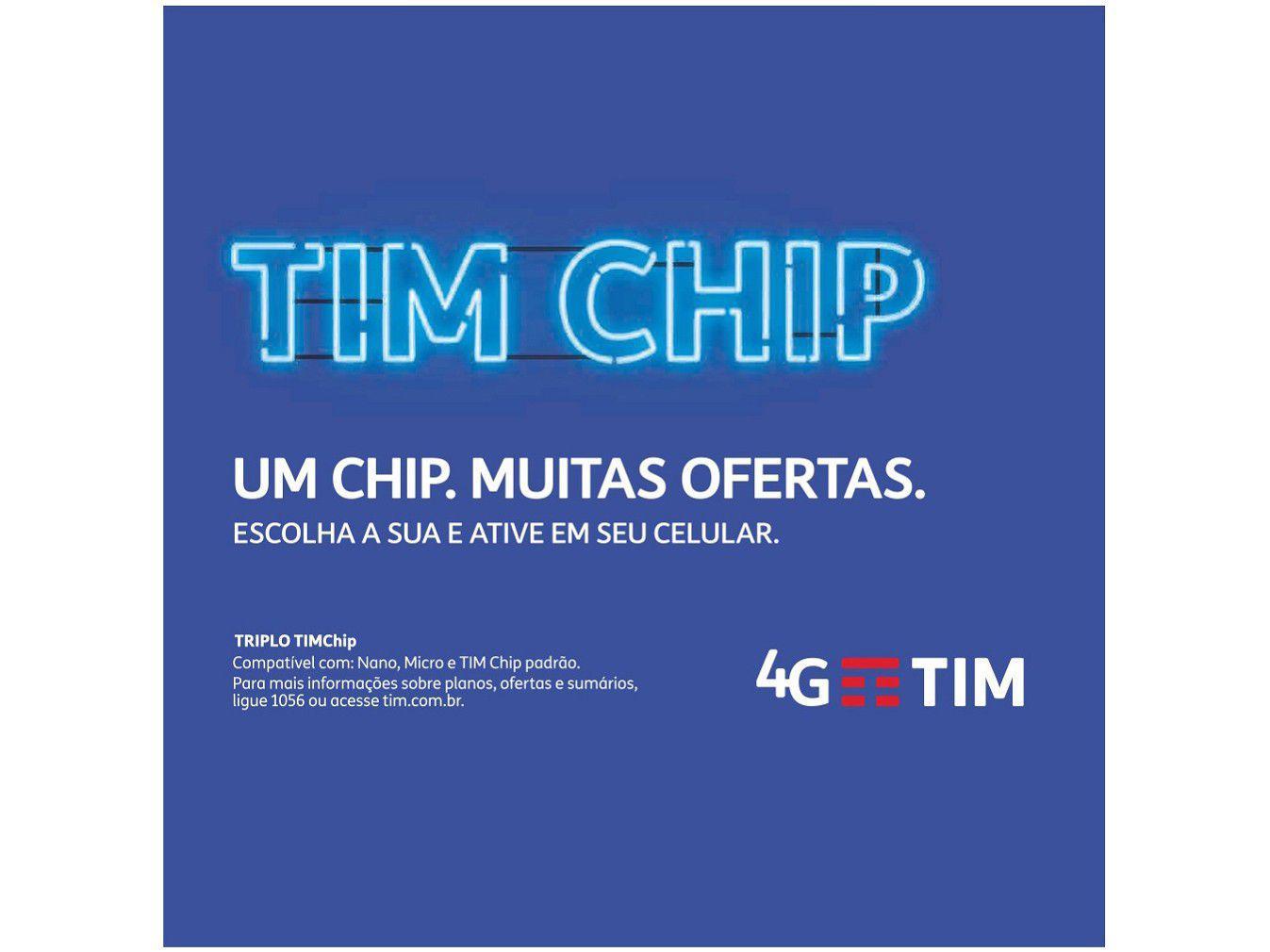 Chip TIM 4G - Pré-Pago/Controle