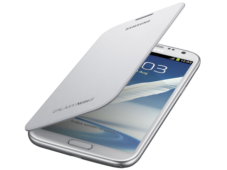 Capa Flip p/ Galaxy Note 2 - Samsung