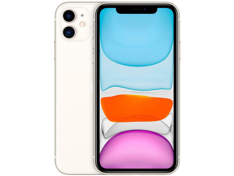 "iPhone 11 Apple 256GB Branco 6,1"" 12MP iOS"