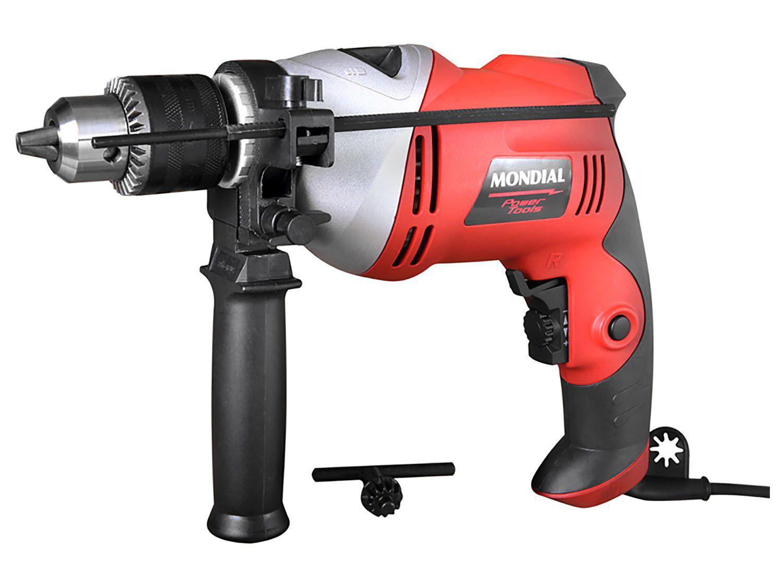 """Furadeira de Impacto Mondial 700W 1/2"""" - Power Tools FFI-05"""