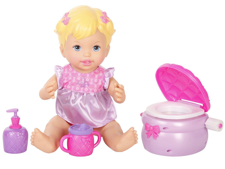 Boneca Little Mommy Peniquinho - Com Acessórios Mattel