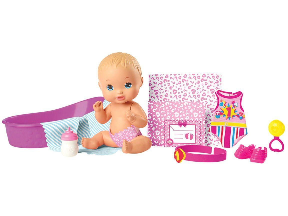 Boneca Little Mommy com Acessórios - Mattel