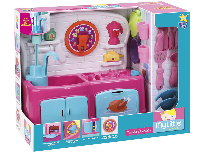 Cozinha Infantil My Little Collection - Divertoys