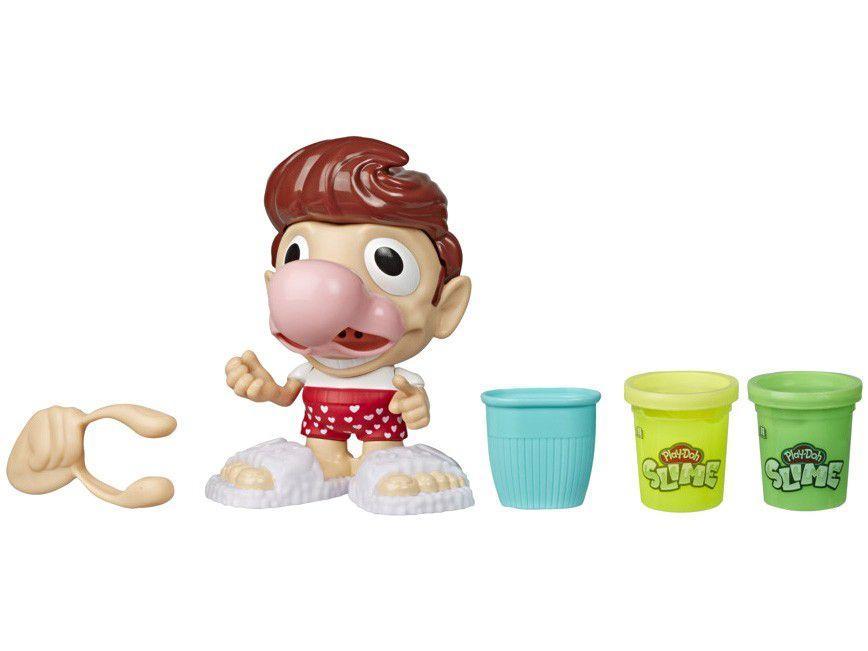 Slime Mundo de Texturas Play-Doh Snotty Scotty - com Acessórios Hasbro
