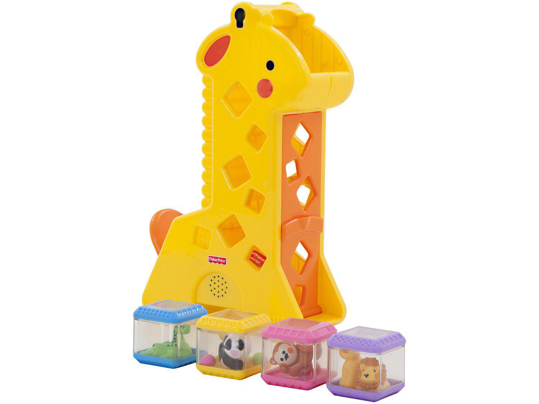 Brinquedo de Encaixar Girafa Pick-A-Blocks - Fisher-Price B4253