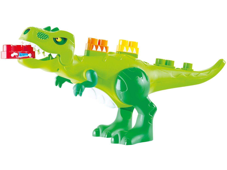 Blocos de Montar 31 Peças Baby Land Dino Jurássico - 8001 Cardoso