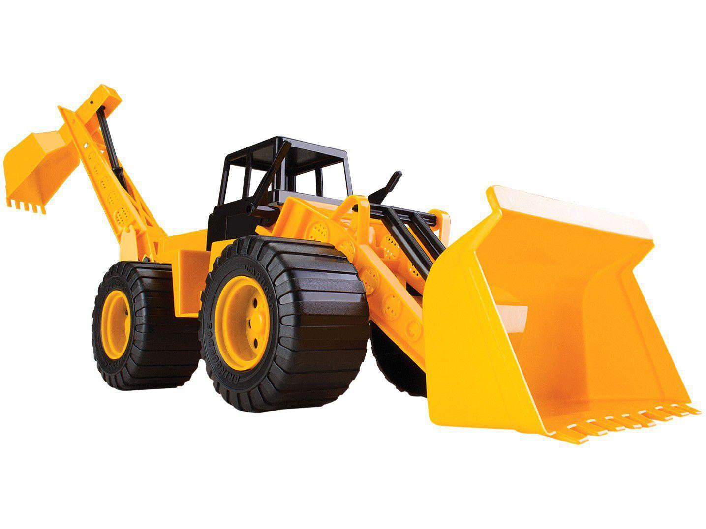 Caminhão Retroescavadeira - Brinquedos Cardoso