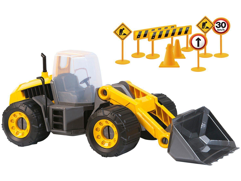 Máquina Carregadeira Construction Machine - Usual Brinquedos