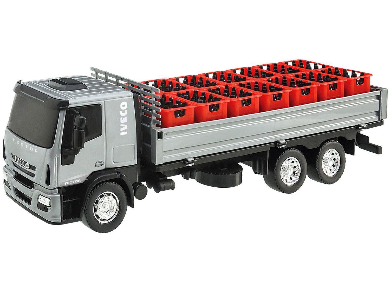 Caminhão Iveco com Acessórios Usual Brinquedos