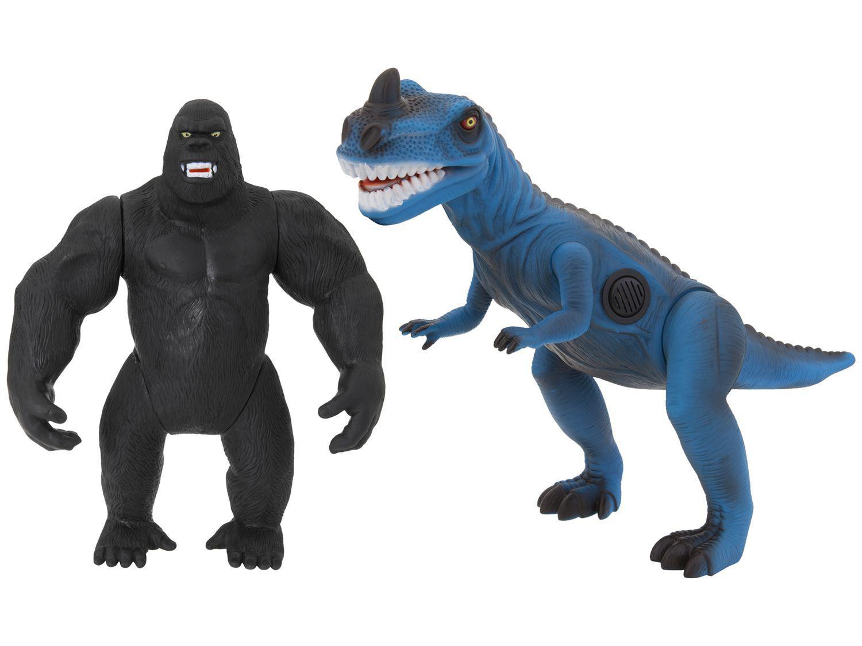 Boneco Colecionável Dinopark - Dinossauro e Gorila Bee Toys