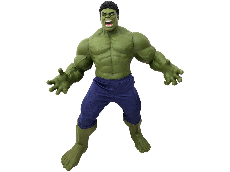 Boneco Marvel Avengers Hulk 50cm - Mimo
