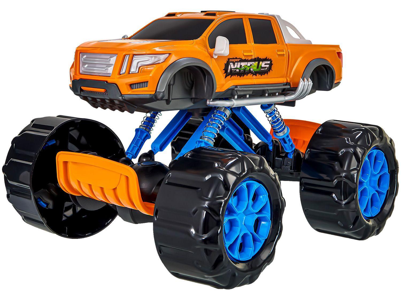 Carrinho Roda Livre Pick-up Super Nitrus - Usual Brinquedos 457
